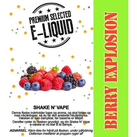 ECL Premium Selected Berry Explosion - ECL Blend 30ml. eclshop.dk