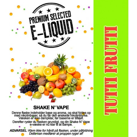 ECL Premium Selected Tutti Frutti - ECL Blend 30ml. eclshop.dk