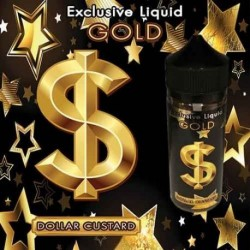 SMASH, Zombie, WOW, Gold & Bellevue by 7Sense Gold - Dollar Custard 120ml. - 7Sense eclshop.dk