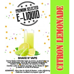 ECL Premium Selected Citron Lemonade - ECL Blend 30ml. eclshop.dk