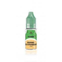 Vapestreet Ananas/Wild Strawberry - Vapestreet Aroma - 10ml. eclshop.dk