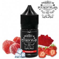 Halo, Horny Flava & Fcukin' Flava Fcukin Flava - Strawberry Jello Aroma - 30ml. eclshop.dk