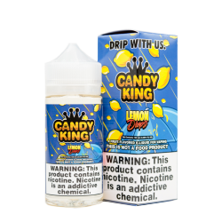 Flawless & Drip More Candy K'ng - Lemon Drops 120ml. - Drip More eclshop.dk