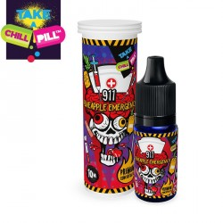 Aromazon, Chill Pill & Coffee Mill 911 – Pineapple Emergency By Chill Pill - 10ml. eclshop.dk