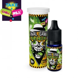 Aromazon, Chill Pill & Coffee Mill Final Game – Kiwi Melon By Chill Pill - 10ml. eclshop.dk