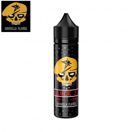 Icons, Guerrilla & Hustler Juice GUERRILLA Liquid Glock 22, 60ml eclshop.dk