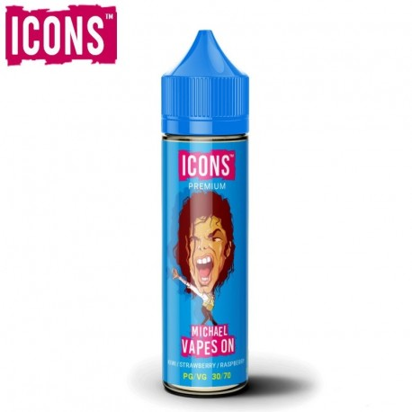 Icons, Guerrilla & Hustler Juice ICONS Michael Vapes On, 60ml eclshop.dk