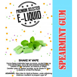 ECL Premium Selected Spearmint Gum - ECL Blend 30ml. eclshop.dk