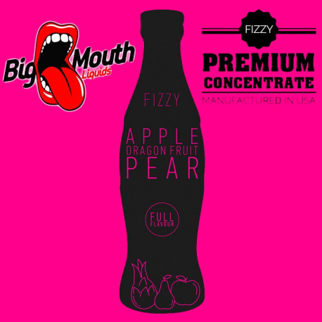 Big Mouth Fizzy - APPLE, DRAGON FRUIT, PEAR Aroma - Big Mouth eclshop.dk
