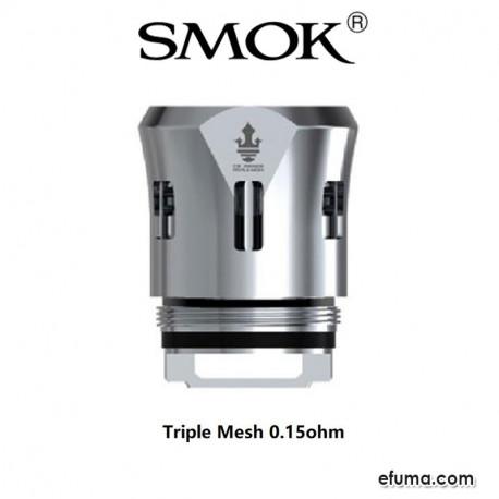 Coils V12 P-Tank Triple Mesh 0.15ohm - 3pak eclshop.dk