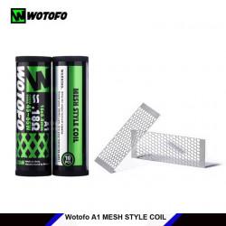 DIY - Tråd, Vat & Værktøj Wotofo Mesh Style Coil 6.8mm - 0.18ohm, 10stk eclshop.dk