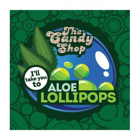Big Mouth The Candy Shop - Aloe Lollipops Aroma - Big Mouth eclshop.dk