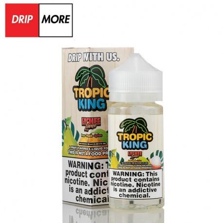 Flawless & Drip More TROPIC KING – LYCHEE LUAU 120ml. - Drip More eclshop.dk
