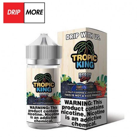 Flawless & Drip More TROPIC KING – BERRY BREEZE 120ml. - Drip More eclshop.dk