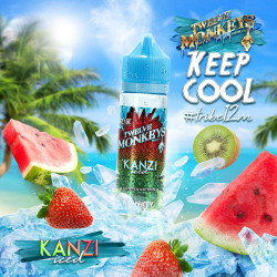 Fantasi & Twelve Monkeys Kanzi Iced By Twelve Monkeys - 60ml. eclshop.dk