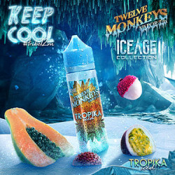 Tropika Iced By Twelve Monkeys - 60ml.