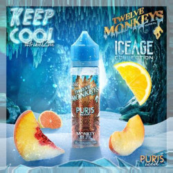 Puris Iced By Twelve Monkeys - 60ml.
