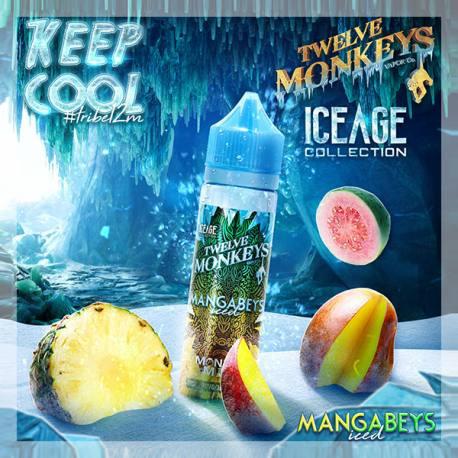 Fantasi & Twelve Monkeys Mangabeys Iced By Twelve Monkeys - 60ml. eclshop.dk
