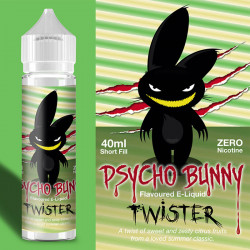 Flapour, Psycho Bunny Twister VG80/PG20 - 60ml