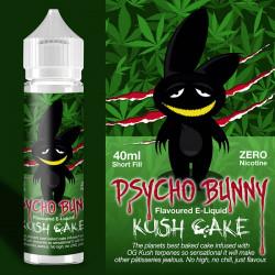 E-væske Flapour, Psycho Bunny Kush Cake VG80/PG20 - 60ml eclshop.dk