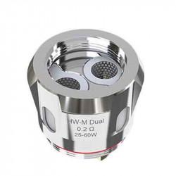 Coils HW-M Dual Coil Head - 0.2ohm - 5pak eclshop.dk