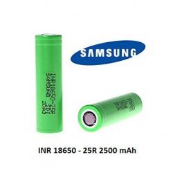 Samsung INR 18650 25R, 2500mAh 3.6V 20amp