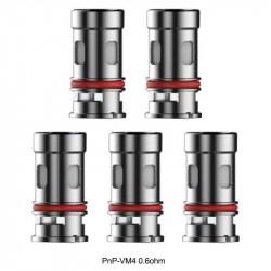 Coils VOOPOO PnP Mesh Coil - VM4 - 0.6 Ohm - 5 Pak eclshop.dk