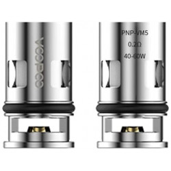 Coils VOOPOO PnP Mesh Coil - VM5 0.2ohm - 5 Pak eclshop.dk