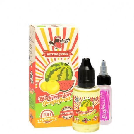 Aroma & Baser Retro Juice - WATERMELON and GRAPEFRUIT - 30ml. eclshop.dk