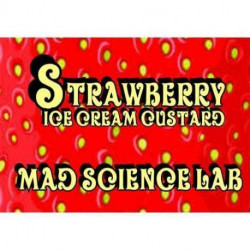 Aroma & Baser MSL - Strawberry Ice Cream Custard - 10 ml eclshop.dk