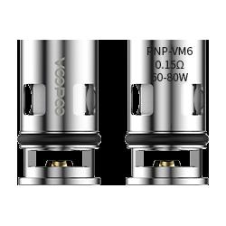 Coils VOOPOO PnP - VM6 0.15ohm - 5 Pak eclshop.dk