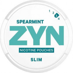 Nikotinposer (tobaks fri) ZYN - SLIM SPEARMINT STRONG eclshop.dk