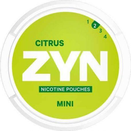 ZYN Nikotinposer ZYN - MINI CITRUS eclshop.dk