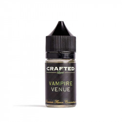 Crafted Concentrates & Vape Away Vampire Venue, Crafted Aroma - 30ml. eclshop.dk