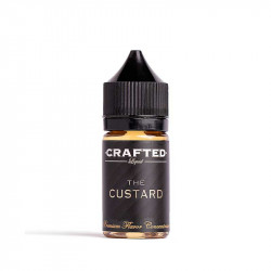Crafted Concentrates & Vape Away The Custard, Crafted Aroma - 30ml. eclshop.dk