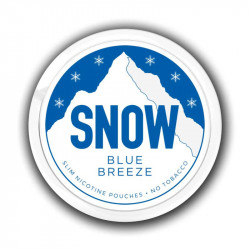 Nikotin og Aroma produkter SNOW - Blue Breeze eclshop.dk