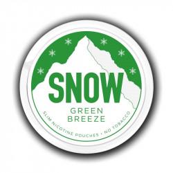 Nikotin og Aroma produkter SNOW - Green Breeze eclshop.dk
