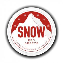 Nikotin og Aroma produkter SNOW - Red Breeze eclshop.dk
