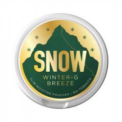 Nikotin og Aroma produkter SNOW - Winter-G Breeze eclshop.dk