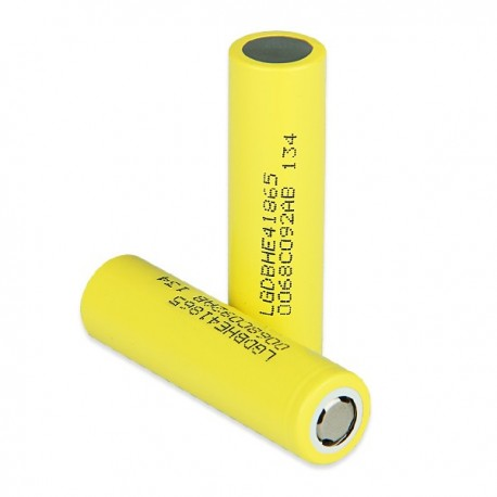 Batterier LG 18650-HE4 2500mAh Battery - 8C 20A eclshop.dk